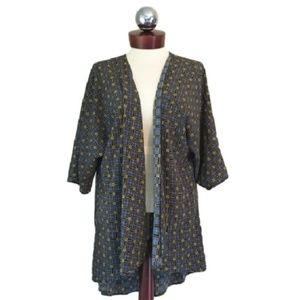 LULAROE lindsay kimono Cardigan Silky S